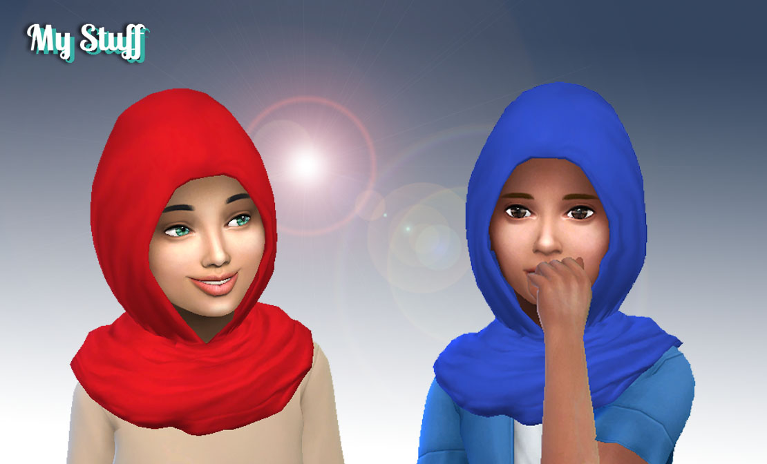 Детский хиджаб The Sims 4 - Simstone